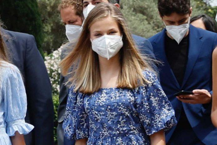 Reina Letizia y Princesa Leonor, vacunadas contra el coronavirus 2