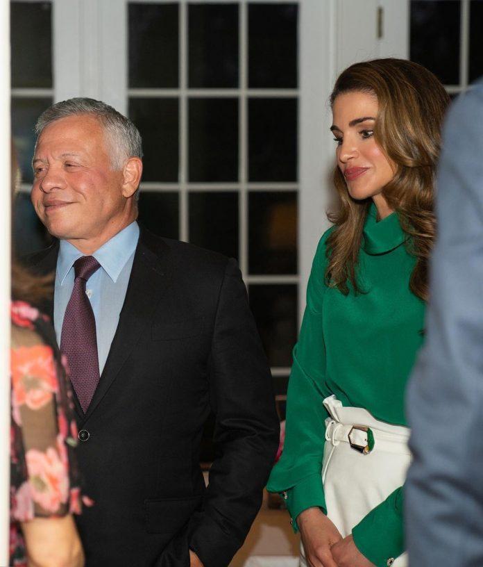 La espectacular maleta con la que Rania de Jordania ha reconquistado Estados Unidos 4