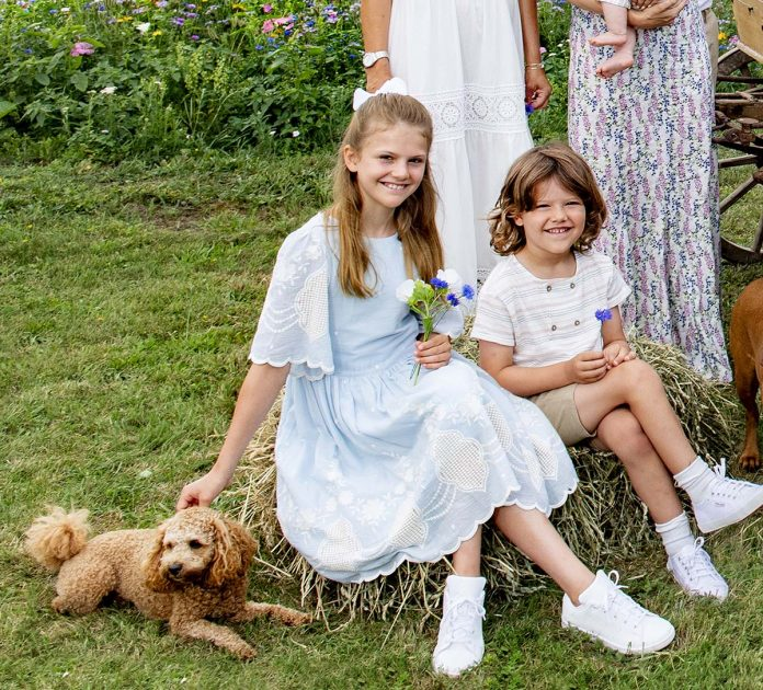¡La foto más esperada !: el reencuentro de verano de toda la Familia Real Sueca 4