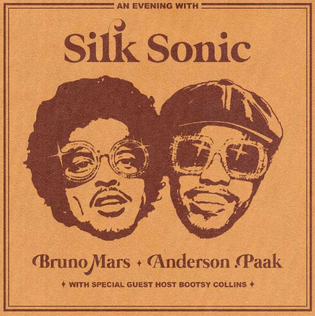 Silk Sonic Bruno Mars Anderson Paak Skate