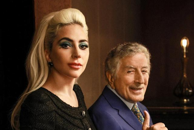 Tony Bennett, Lady Gaga, te sacaré una patada