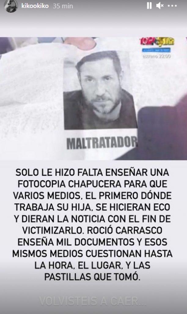 "Advertencia de Kiko Jiménez sobre Antonio David Flores: ""Te volviste a caer"" 1"