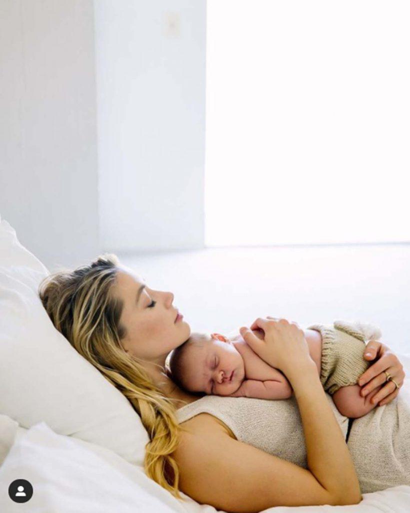 Amber Heard, nueva madre por gestación subrogada 1