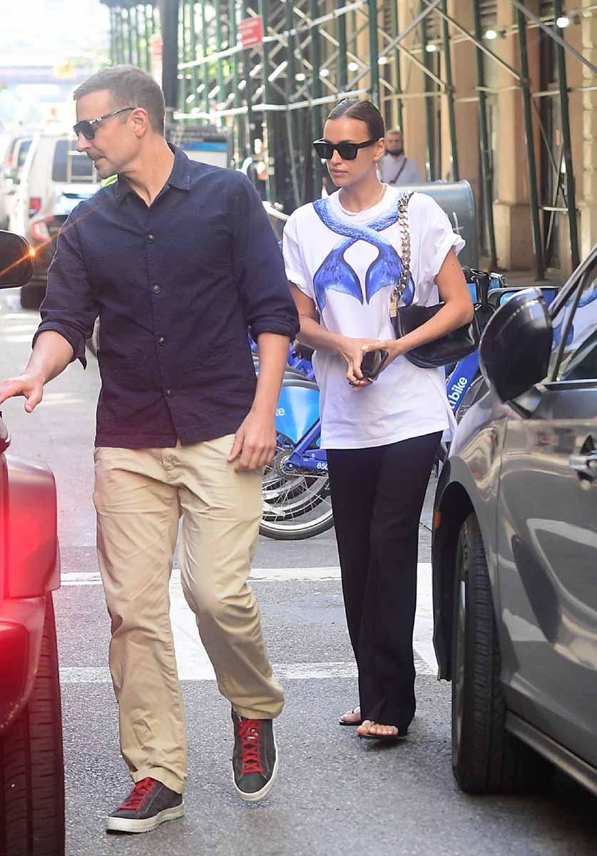 Bradley Cooper e Irina Shayk, de paseo por Nueva York tras el romance de la modelo con Kanye West 1