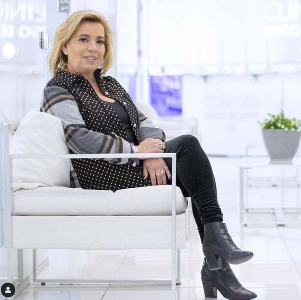 Carmen Borrego confiesa su último retoque estético 1