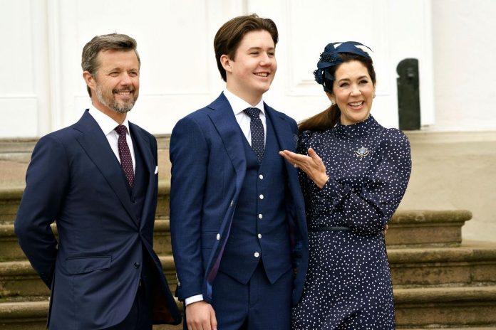 Christian de Dinamarca supera a Leonor y Alexia en su marcha al internado 1