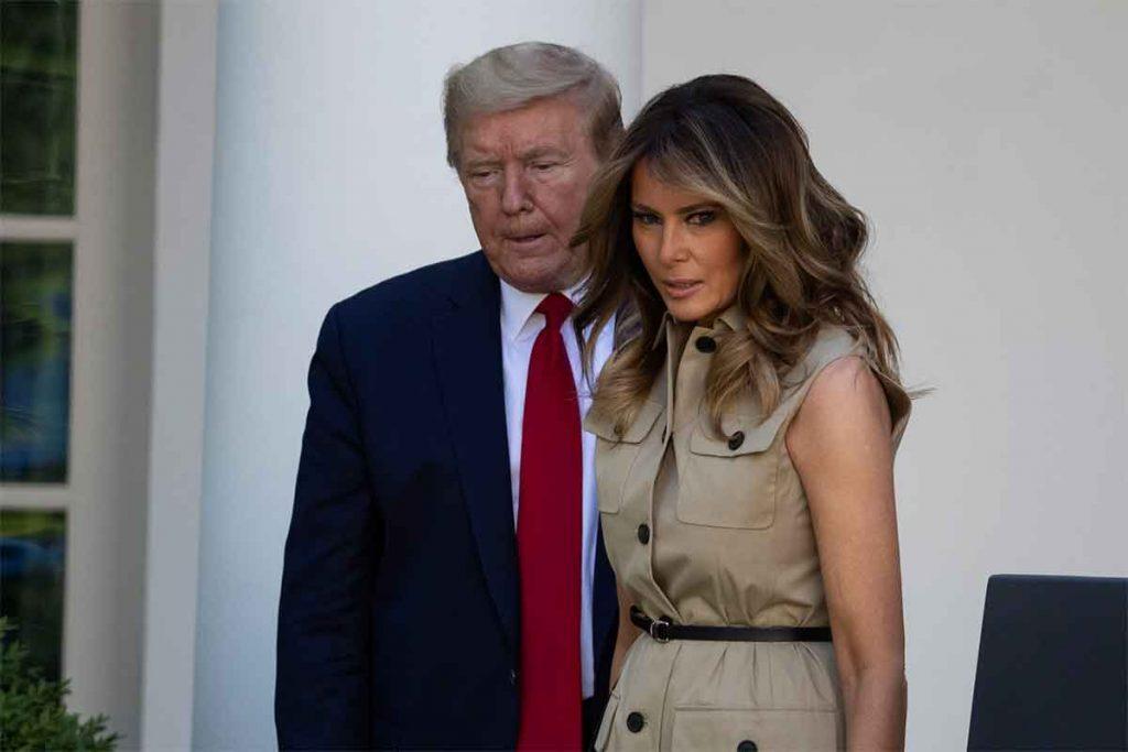 """Donald Trump y Melania Trump dan positivo por coronavirus después de reírse del """"virus chino"""" 1"""