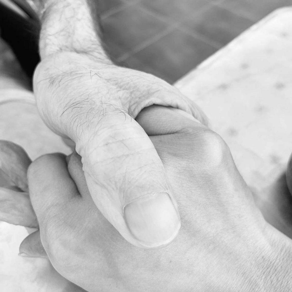 """El emotivo mensaje de despedida de Irene Rosales a su padre: """"Mi corazón está roto"""" 1"""