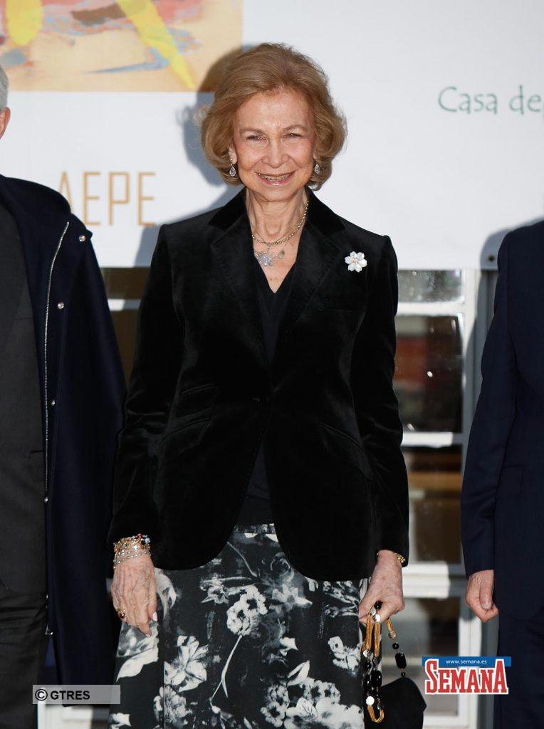 El gesto de la reina Sofía para ayudar a los más desfavorecidos 1