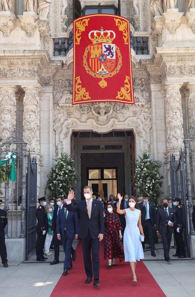 """El orgullo de Letizia por la distinción """"entrañable"""" del rey Felipe en Andalucía 1"""