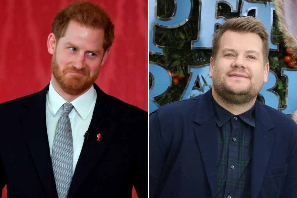 El príncipe Harry, invitado de honor en el programa de James Corden 1