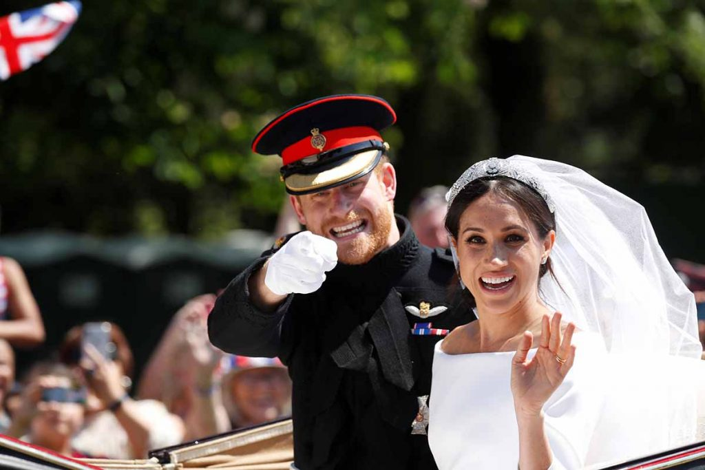Boda de meghan harry