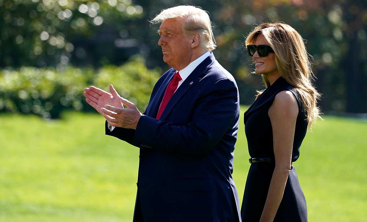 El regreso de la doppelganger de Melania Trump está de moda: ¿es ella o no? 1