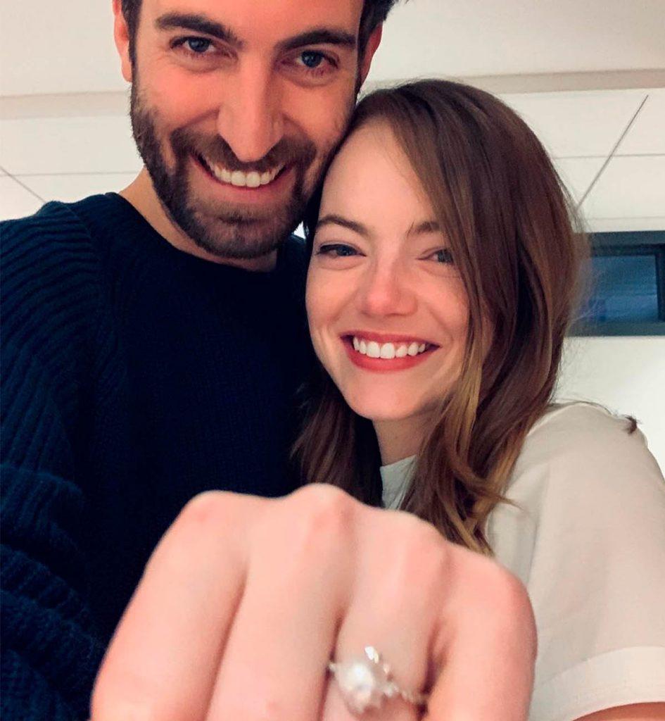 Emma Stone se casa en secreto con Dave McCary 1