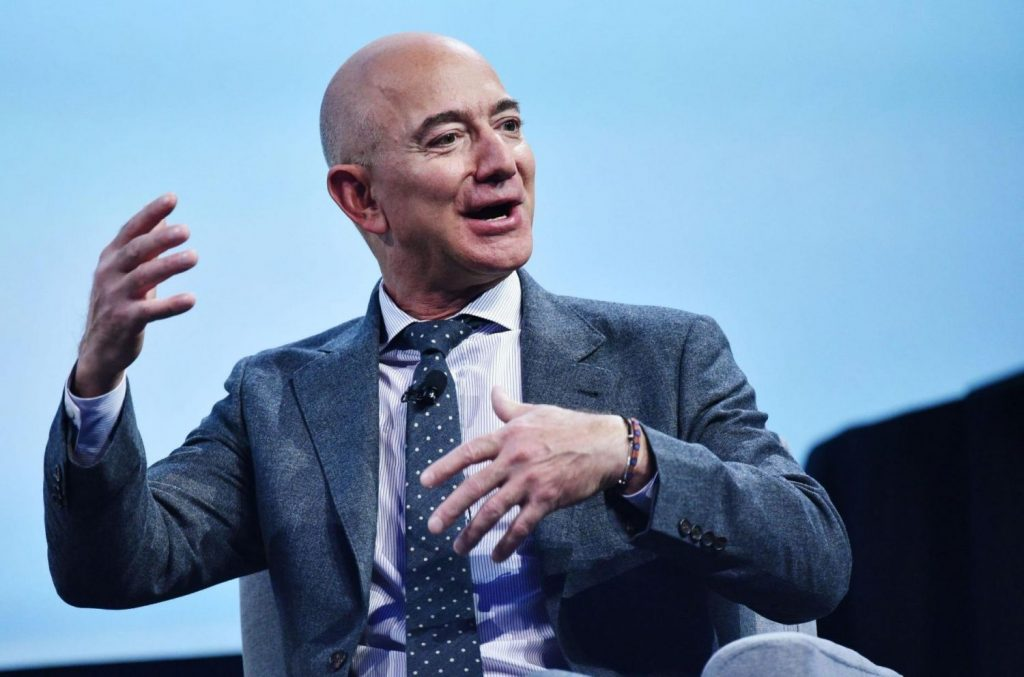 ¿Cuál será la nueva posición de Jeff Bezos?