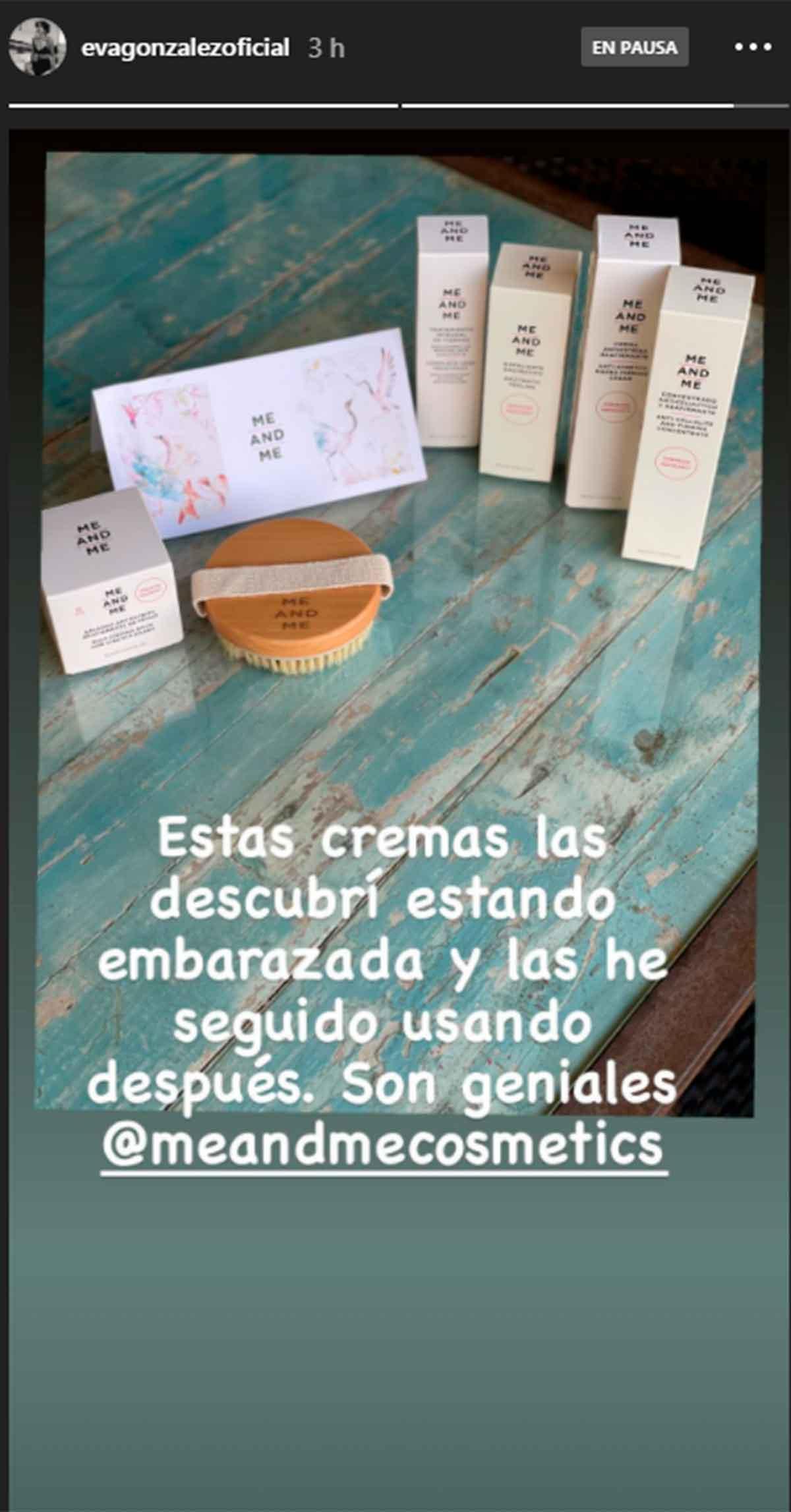 Eva González revela los cosméticos que utilizó durante su embarazo para evitar las estrías 1