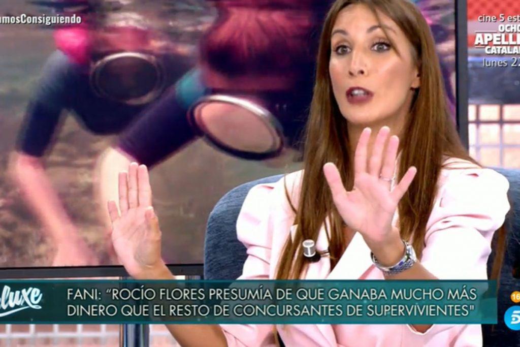 Fani cargo en contra de Rocio Flores y Ana María Aldón 1