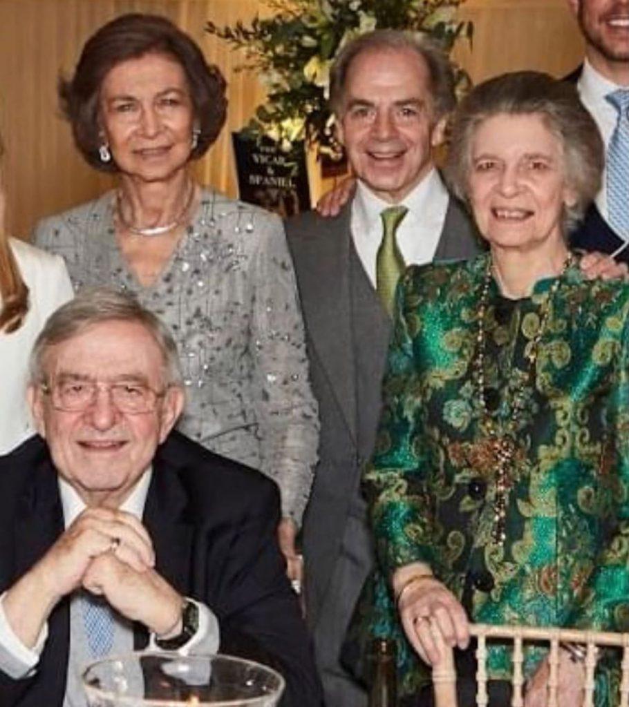 Golpe duro para la Reina Sofía: muere su primo Pablo Bandram 1