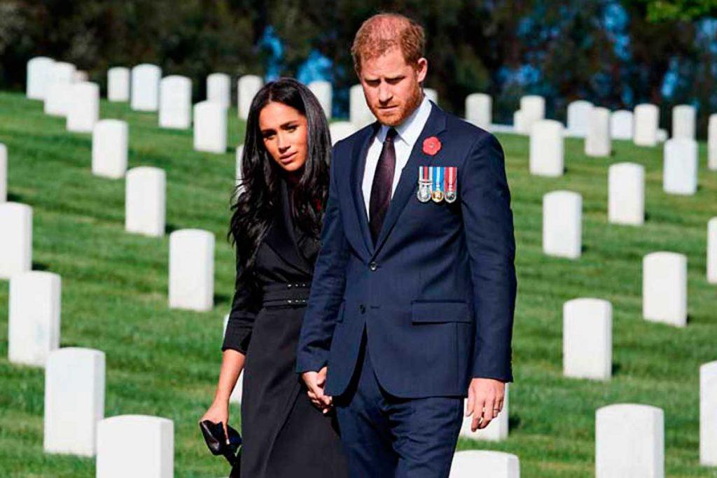 """El príncipe Harry volverá a Londres sin Meghan Markle para """"evitar dolores de cabeza"""" 1"""