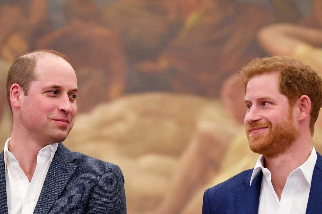 Harry y William entierran el hacha para Navidad 1