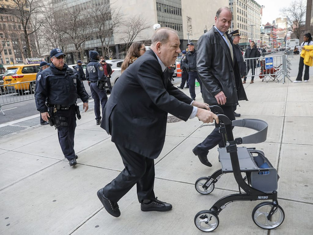 Harvey Weinstein: en el hospital luego de ser condenado por acoso sexual 1