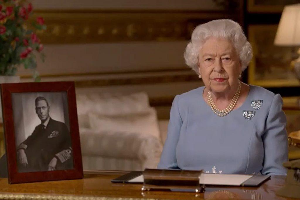 Homenaje de Isabel II a su padre en el 75 aniversario de la Segunda Guerra Mundial 1