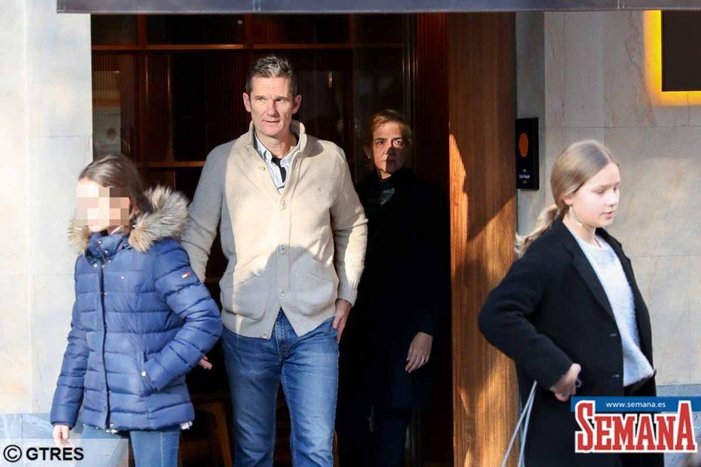 Infanta Cristina e Iñaki Urdangarin: viaje secreto a Barcelona 2