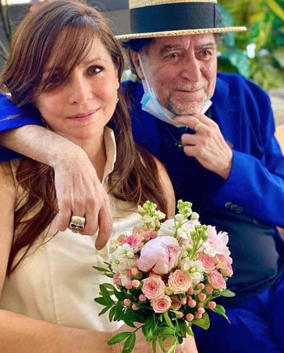 Joaquín Sabina y Jimena Coronado comparten sus fotos de boda 1