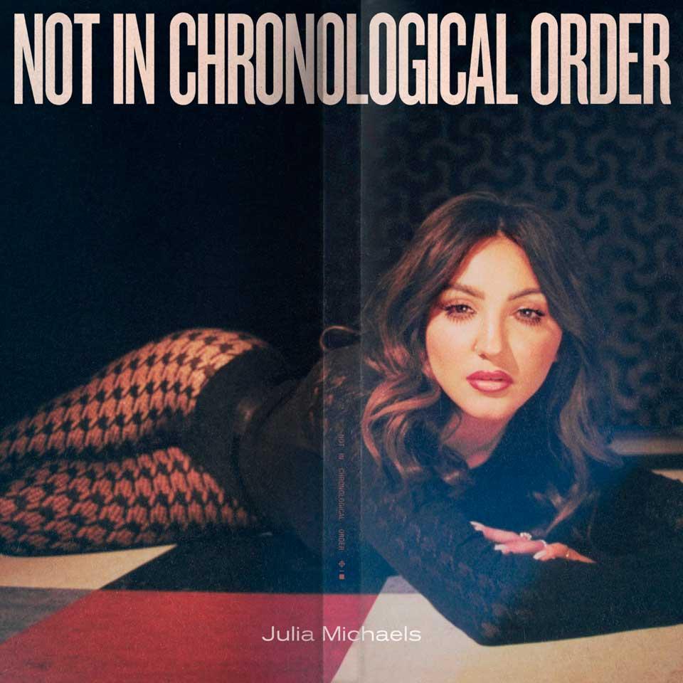 """Julia Michaels presenta """"No en orden cronológico"""", su álbum debut 1"""