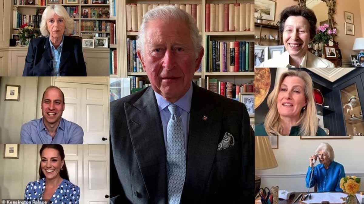 Kate Middleton y el mensaje de la familia real británica a las enfermeras 1