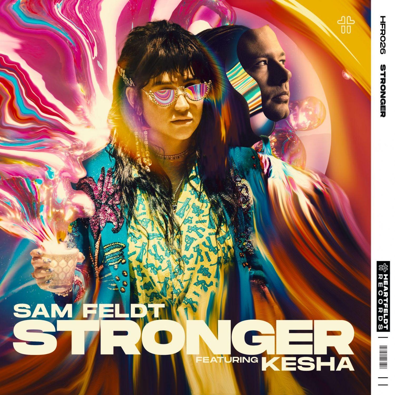 Kesha Sam Feldt más fuerte