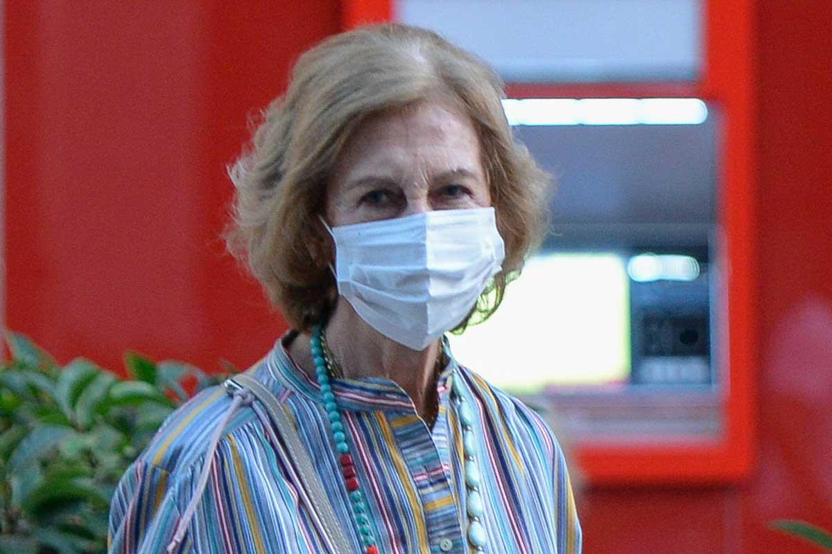 La Reina Sofía de tapas en Murcia tras un acto solidario 1