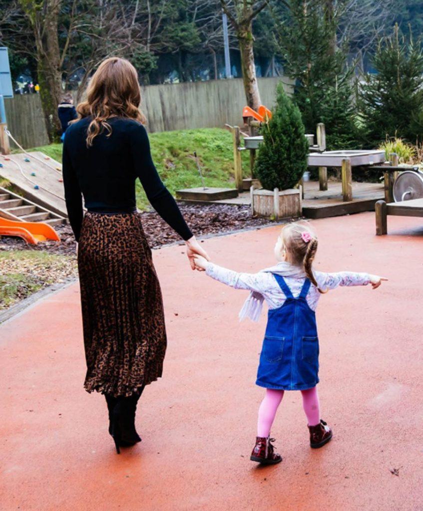 La entrañable imagen de Kate Middleton con su hija Charlotte 1