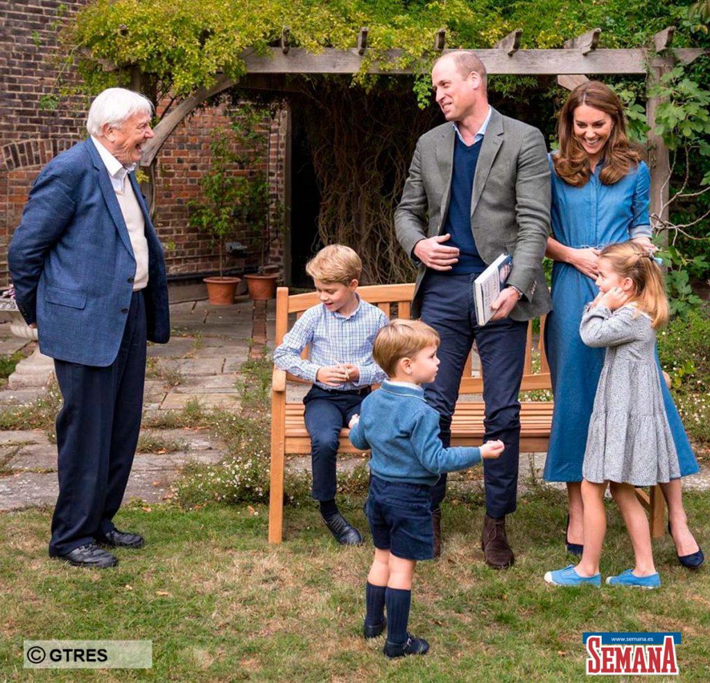La ilusión y espontaneidad de los hijos de los duques de Cambridge al conocer a su ídolo 1