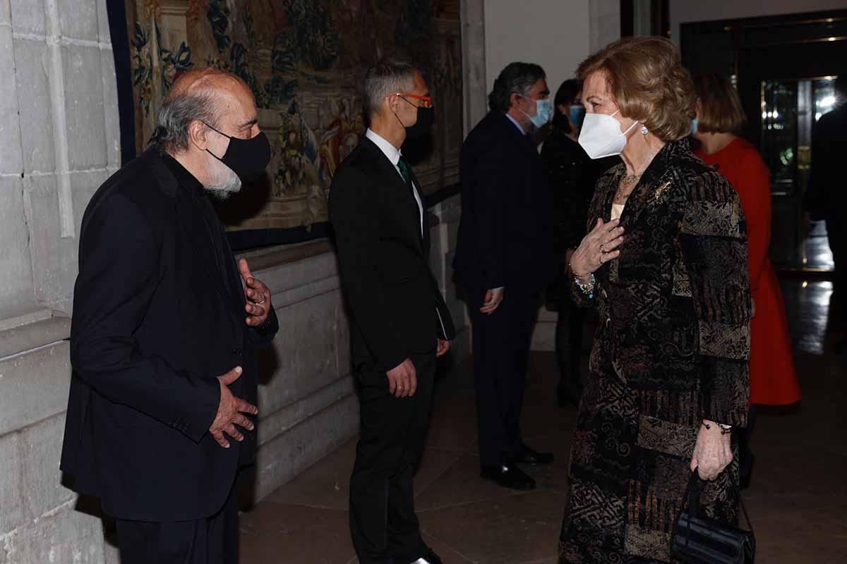 La reaparición de Doña Sofía tras el viaje de la Infanta Elena a Abu Dhabi 1