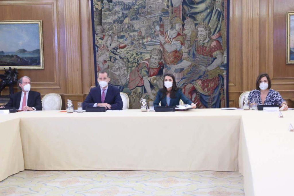 La reina Letizia cierra la semana en palacio asistiendo por sorpresa a un encuentro 1