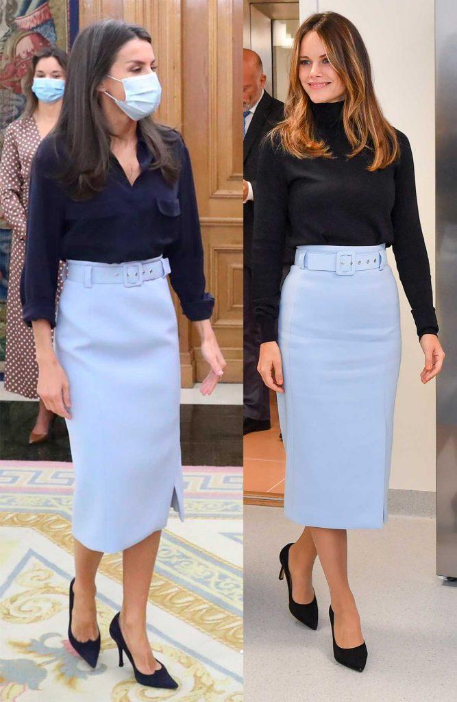 La reina Letizia no tiene frío: su nueva blusa de manga corta es la prueba 1