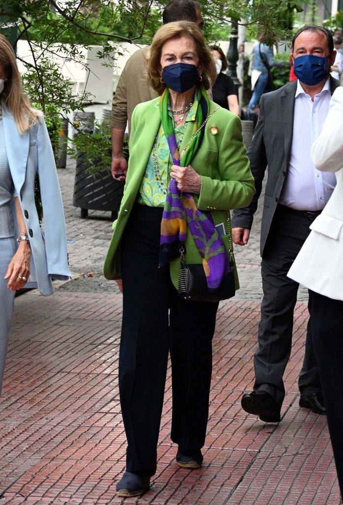 De Grecia a España (vía Suiza): la Reina Sofía regresa a La Zarzuela después de sus viajes privados 6