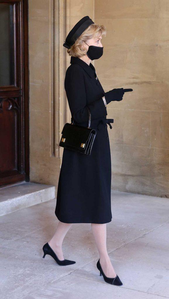Lady Penny, la amiga especial del duque, entre las 30 elegidas del funeral 1