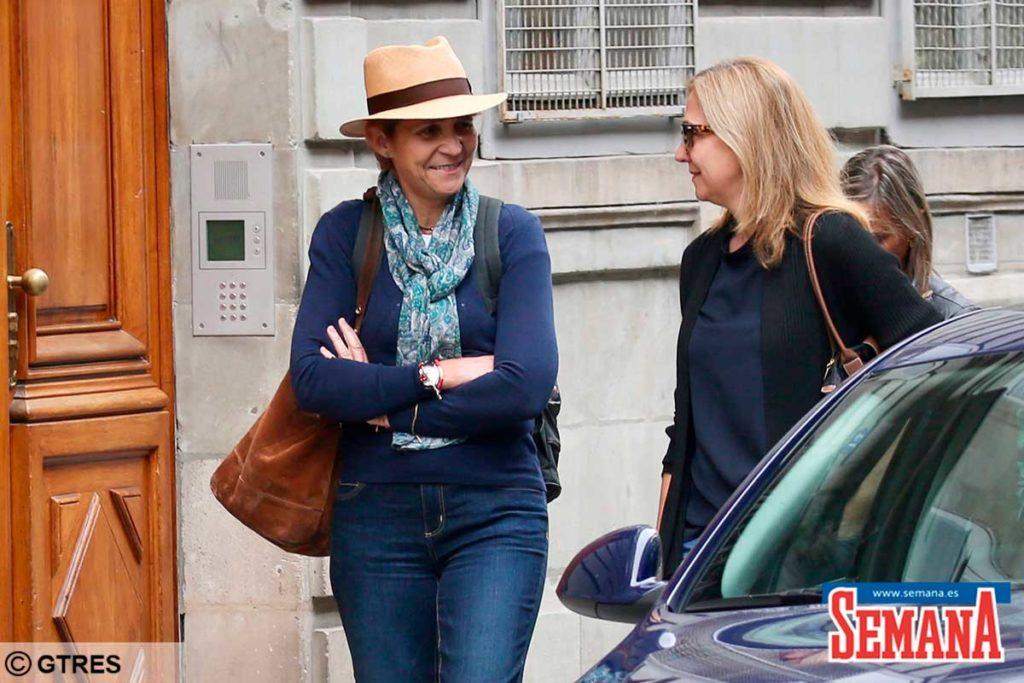 Las Infantas Elena y Cristina regresan a Abu Dhabi para ver al Rey Juan Carlos 1