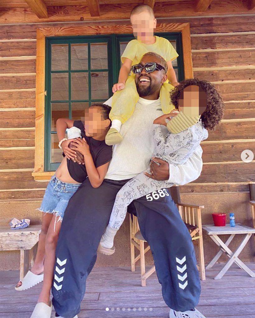 """Las """"aventuras en Colorado"""" de Kim Kardashian y Kanye West 1"""