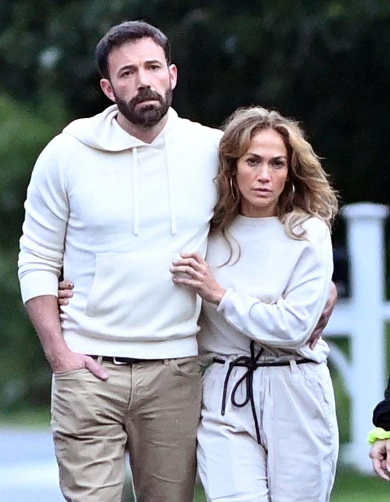 Las imágenes más románticas de Jennifer López y Ben Affleck 1