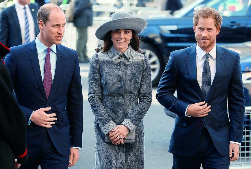 Las imágenes que muestran que Kate babeaba con su cuñado Harry (ahora mediático con Guillermo) 1