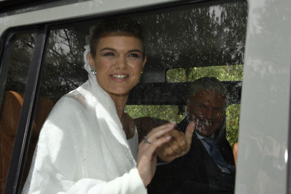 Las primeras imágenes de la boda de Alejandra Ruiz de Rato y Ernesto de Novales 1