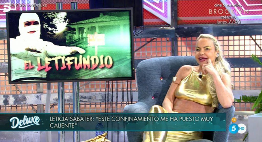 Leticia Sabater por ciento de descuento en la venta de su casa y reconoce sus dificultades económicas 1