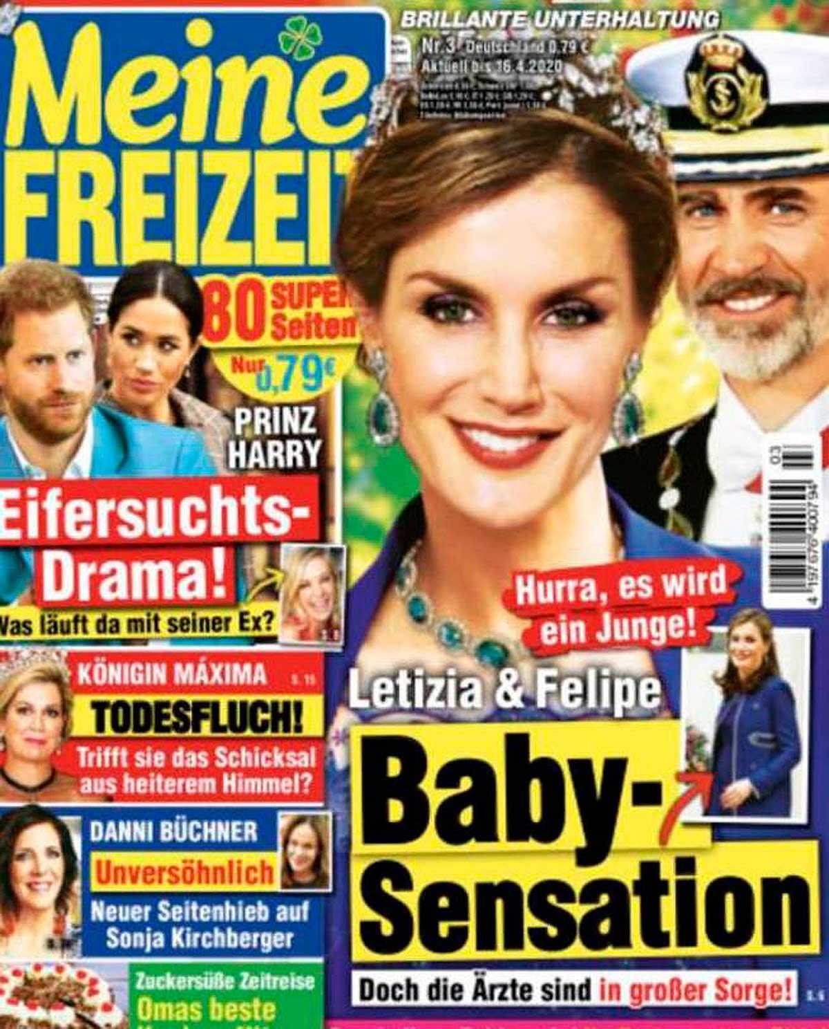 Letizia embarazada según la prensa alemana 1