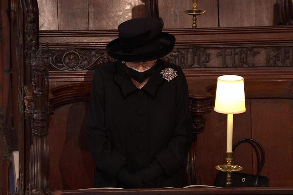 Lo que hizo la reina Isabel II después del funeral de Felipe de Edimburgo 1