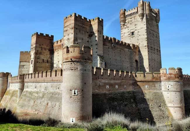 Castillo de la Mota, uno de los castillos con más historia de España