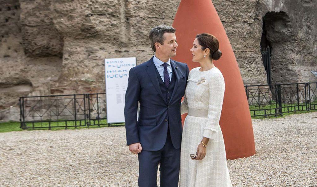 Los príncipes de Dinamarca, de incógnito en una boda en España 1