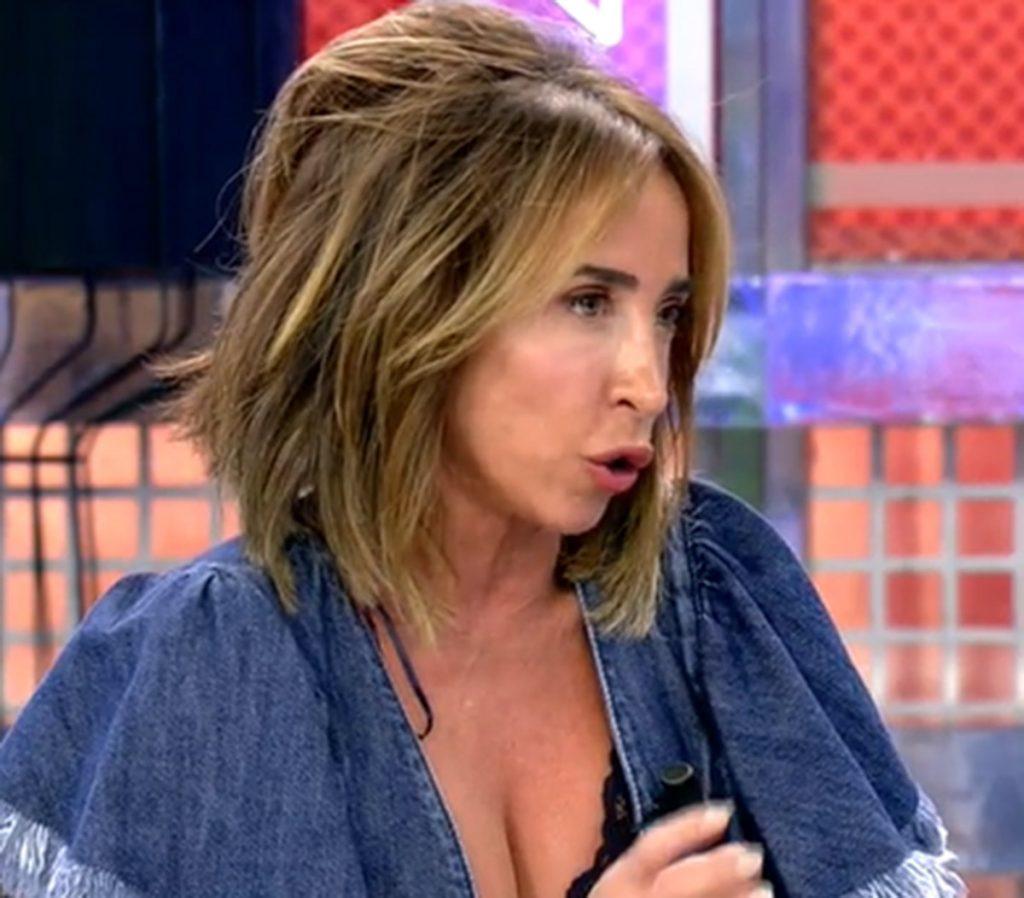 """María Patiño pierde un diente en vivo en sábado """"Deluxe' 1"""